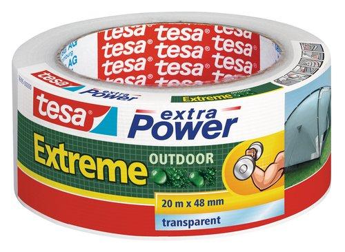 Cinta adhesiva americana transparente tesa Extreme (20m x 48mm)