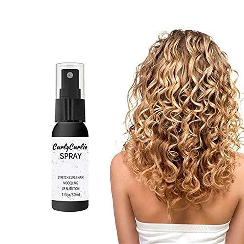 Haarspray, 3 Stück flaumig volumizierendes Haarspray, Curl-Steigung Definieren von Creme-Haar-Reparatur-Sprung, Stylist Empfohlenes Haarvolumen & Texturierung Haarspray-50 ml