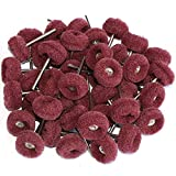 FPPO 50PCS Abrasive Buffing Polishing Wheel Set For Rotary Tools,Removal of Rust Deburring on Metal Surface...