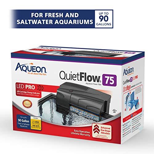 Aqueon QuietFlow LED PRO HOB Filter