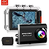 Apexcam 【2019 Nuova】 Action Cam PRO Fotocamera 4K EIS WiFi 20MP Ultra HD Impermeabile 40M...