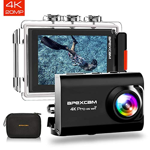 APEXCAM M80 Pro Action Cam 4k with EIS [Amazon € 10 discount]