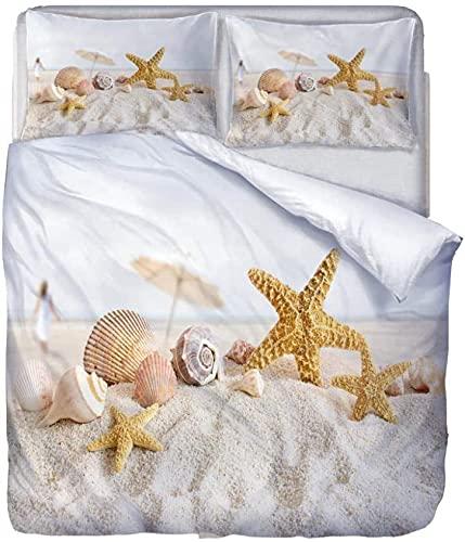 YANHUA Juego de cama de microfibra con funda de edredón y funda de almohada con cremallera, para niños, niños y niñas (140 x 210 cm)