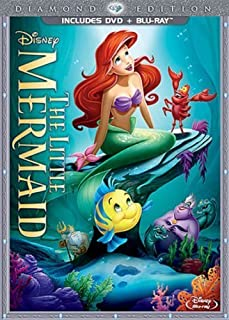 The Little Mermaid (Two-Disc Diamond Edition: Blu-ray / DVD in DVD Packaging) by Walt Disney Studios Home Entertainment