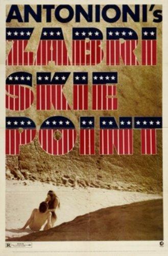 Le DVD du film Zabriskie Point de Michelangelo Antonioni