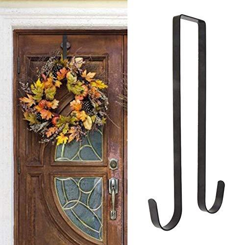 Cracklight 38cm Gancho de Corona para Puerta de Entrada, Navidad, Halloween, Colgante...