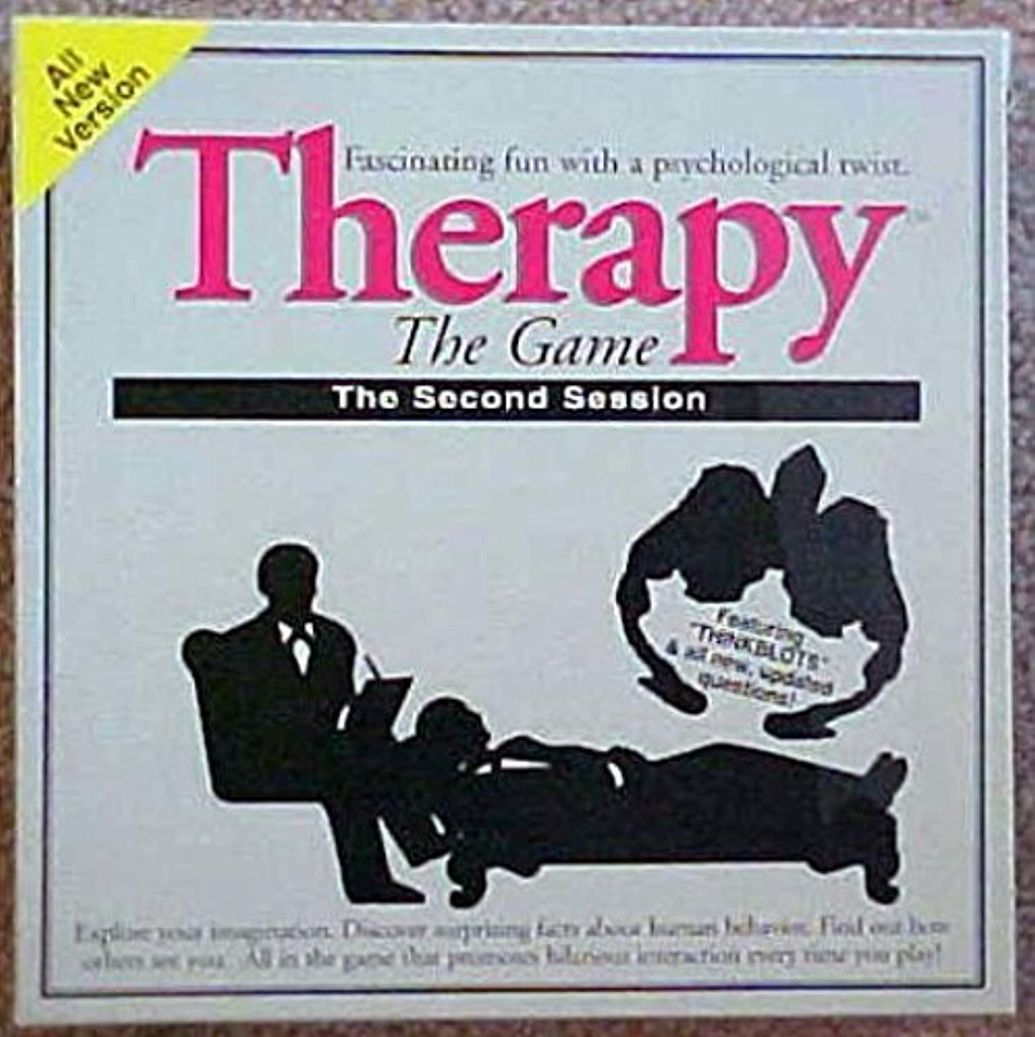 Therapy the Second Session Board Game by Pressman Toy