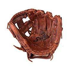 MODEL - Junior Model – Tee Ball (7-year old and younger baseball players) MATERIAL & DESIGN - Special aged soft antique tobacco leather with traditional open back and I-Web style FIT - Left-Hand Throw (Item goes on the right hand), Right-Hand Throw (...