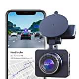 Nexar Beam GPS | Full HD 1080p Dash Cam | 2021 Model | 32 GB SD Card Included | WiFi | Unlimited Cloud Storage