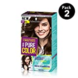 Pure Color de Schwarzkopf Tono  5.0 Just Brown - 2 uds - Coloración Permamente