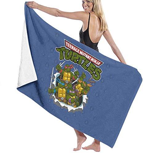 N\ Toalla de baño de 80s Teenage Mutant Ninja Turtles Toalla de playa de secado rápido