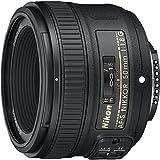Nikon 50mm f/1.8G Auto Focus-S NIKKOR FX Lens - (Renewed)...