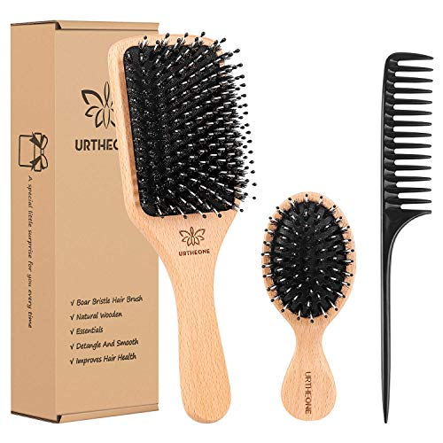 smoothing boars hair brush - 4
