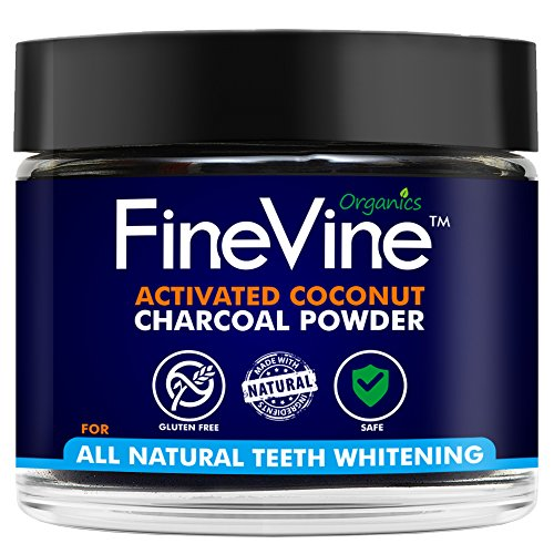 Charcoal Teeth Whitening Powder - Made in USA - Naturally WHITEN Teeth...
