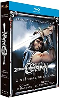 Conan le Barbare + Conan le Destructeur [Blu-ray] (B0052OSN1M) | Amazon price tracker / tracking, Amazon price history charts, Amazon price watches, Amazon price drop alerts