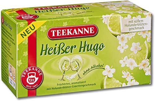 TEEKANNE vruchtenthee hete hugo, zakje gebufferd, 20 x 2,25 g (20 stuks), je ontvangt 1 verpakking à 20 stuks