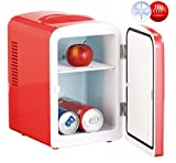 2 in 1 mini fridge with 12/230 V socket - red [Rosenstein & Söhne]