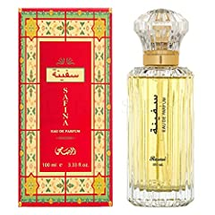 ABOUT SAFINA: Chypre Floral fragrance for women TOP NOTES: Green notes, bergamot, aldehydes and rhubarb MIDDLE NOTES: Jasmine, rose, ylang-ylang and orris root BASE NOTES: Oakmoss, sandalwood, patchouli, castoreum and resins