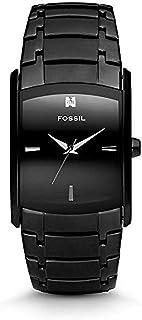 Fossil Diamond Analog Black Dial Men's Watch - FS4159