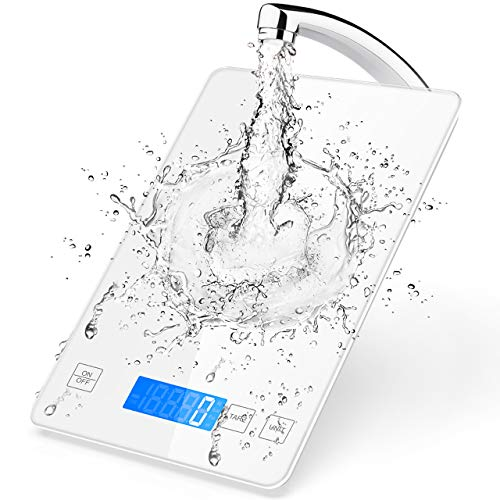 Nicewell Kitchen Food Scale, Tempered Glass