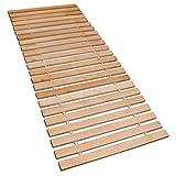 Betten-ABC Premium Rollrost, Stabiles Erlenholz, mit 23 Leisten und Befestigungsschrauben Größe 120x200