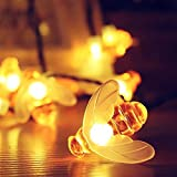 Thorfire Linterna Frontal de 155 Lumens, Luz de Gorra del Faro 3 Bola Modos Sombrero Lámpara por Pilas Aaa, Ajustable Para Visera con Zoom de Posiciones, Ideal Para Ir de Acampada