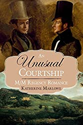 An Unusual Courtship by Katherine Marlowe book cover