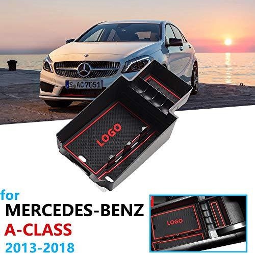 SODIAL Cuchillo de Viento Barra Trasera Negra Brillante Decorativo Modificado Exterior Etiquetas Engomadas del Coche Adecuado para Mercedes-Benz Clase A W176 A200 A250 A45 Amg 2013-2016