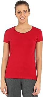 Jockey Women's Cotton V-neck Tee