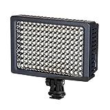 Sunpak VL-LED-160 - Flash per fotocamera, colore: Nero
