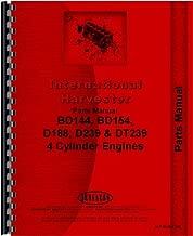 International Harvester 574 Tractor Engine Parts Manual (Engine)