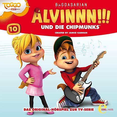 Alvinnn!!! und die Chipmunks 10. Das Original-Hörspiel zur TV-Serie Titelbild