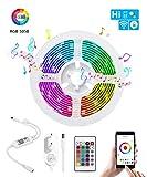 BIFADA WiFi LED Streifen, Wlan led Musikstreifen,Kabellose Smartphone APP gesteuert Sync mit Musik,...