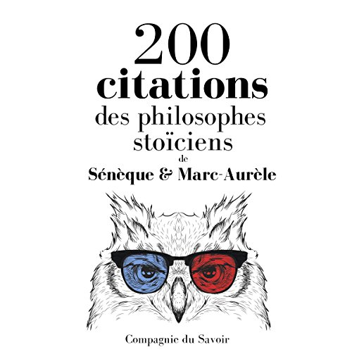Couverture de 200 citations des philosophes stoïciens