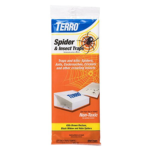 Terro T3206 Spider and Insect Trap (4-Pack)