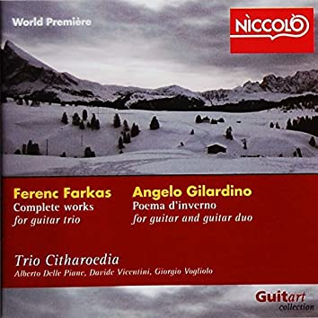 F. Farkas Complete Works for Guitar Duo - A. Gilardino Poema D'inverno