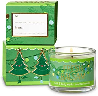 BathBodyWorks Mini Candle Fresh Balsam 2018