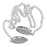 3 piezas Sujetaservilletas con Cadena, 【49cm】Cadena de servilletas, Pinzas...
