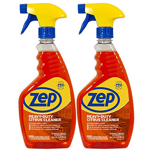 Zep Heavy-Duty Citrus Cleaner 24oz. ZUCITCA24 (Pack of 2) Restaurant Grade
