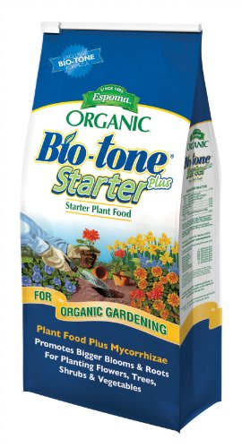 Espoma Organic Bio-Tone Starter Plus All Natural Plant Food - 4 lb Bag BTS4