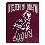 The Northwest Company NCAA Texas A&M Aggies Unisex Alumniraschel Blanket, Team Colors, 50x60 Inches