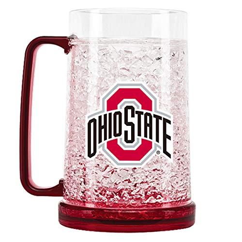 NCAA Ohio State Buckeyes 16oz Crystal Freezer Mug