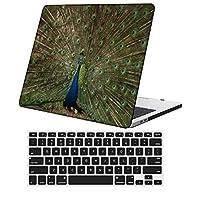 YixiuGG 切り抜きデザインプラスチック製ウルトラスリムライトハードケースキーボードカバー互換MacBook Pro 15インチ2016-2019リリース、タッチバー付き、モデルA1707 / A1990、フェザーシリーズ 0591