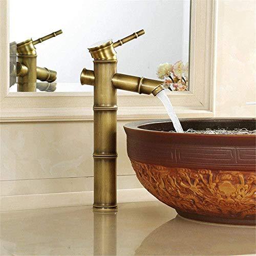 Lavabo retro grifo caliente y frío cobre completo cocina baño vector antiguo cobre puro inodoro lavabo grifo doble grifo doble