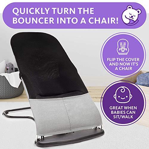 51wgSsJ9quL 10 Best Portable Baby Swings on the Market 2021 Review
