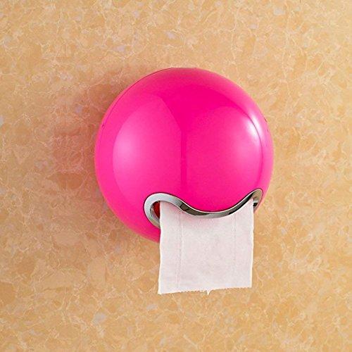 GZ Toilettenpapierständer Toilettenpapierhandtuchkasten Toilettenpapierbehälter/Toilettenpapierbehälter / Toilettenpapierhalter/Toilettenpapier Papierrollenpapier,rot