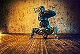 Tänzer Dancer Man XXL Wandbild Kunstdruck Foto Poster