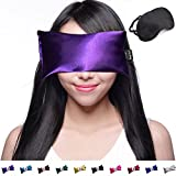 Happy Wraps Lavender Eye Pillow - Weighted Hot Cold Aromatherapy Lavender Eye Pillows for Yoga Sleeping...