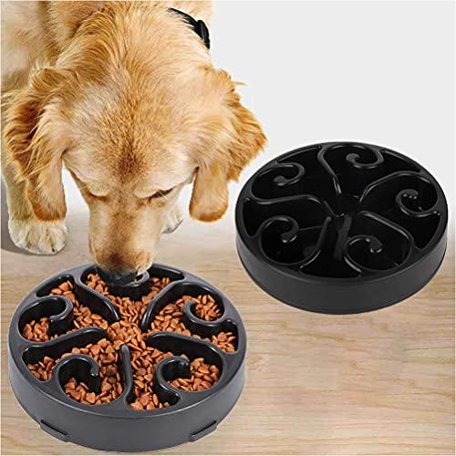 MILIWAN Ciotola per Cani Anti Ingozzamento Ciotola Cane per Lenta Assunzione del Cibo per Animali Domestici, Slow-Eating Bowl per Cani e Gatti