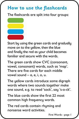 First Words Flashcards: Prepare for Preschool with easy home learning (Collins Easy Learning Preschool)